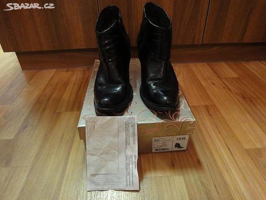 Kožené kotníkové boty Lasocki 4efe19223a