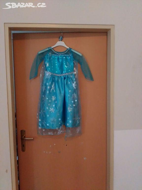Prodám nové Elsovy šaty vel.110 - Praha - Sbazar.cz d32d8c6e22