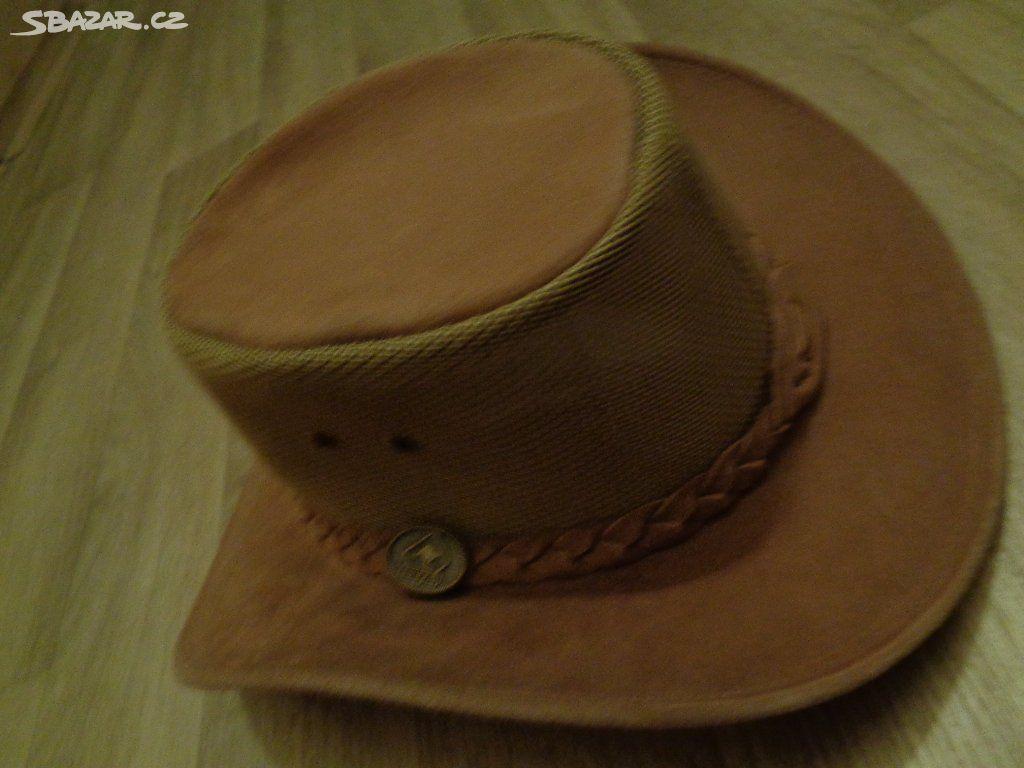 65e51197272 Kožený klobouk - Teplice nad Metují