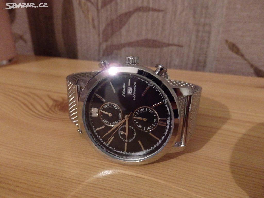 9e06f077020 Pánské hodinky Quartz-SINOBI+ NOVÁ BATERIE - Prostějov - Sbazar.cz