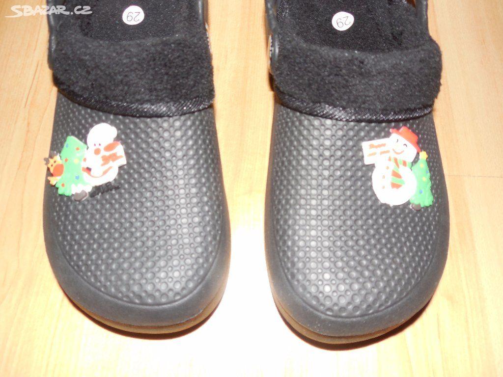 df8114d9368 Dětské černé crocsy krosky 29 - Louny - Sbazar.cz