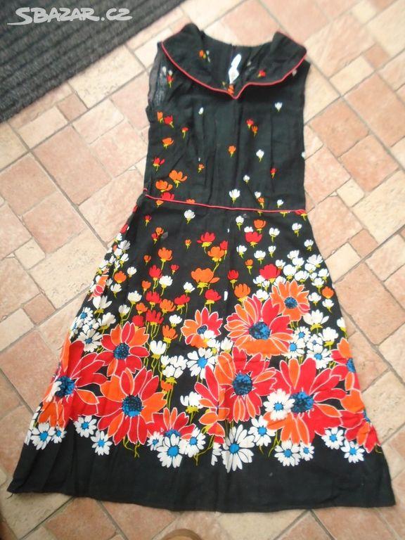 Prodám šaty styl RETRO vel.S-M 8773cafc62