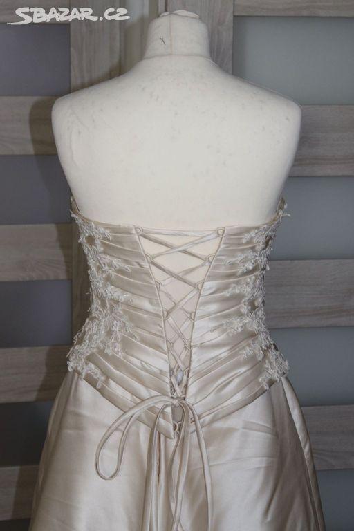 Prodám plesové šaty vel.36-38 s vlečkou. - Česká Lípa - Sbazar.cz cc24bf7d6d