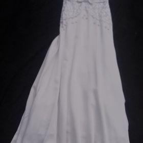 fdc89d230c0 Svatební vyšívaná sukně s vlečkou vel. 36 38 - Česká Lípa - Sbazar.cz
