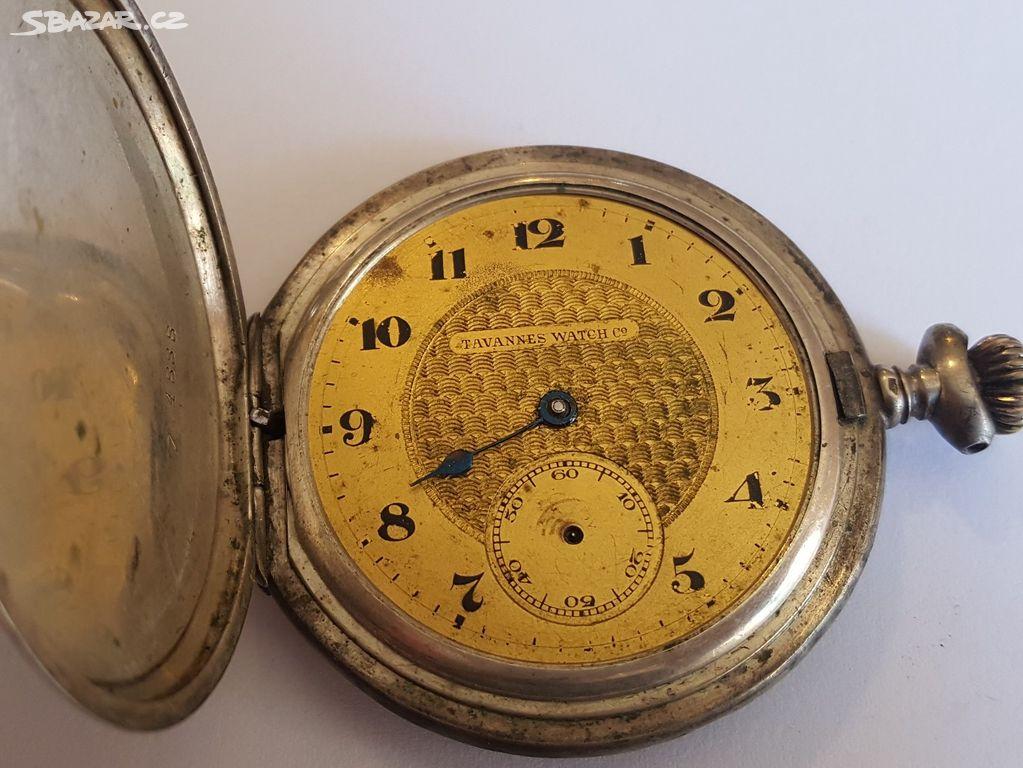 Kapesní hodinky Tavannes Watch c2 - Kutná Hora - Sbazar.cz c0604f96da