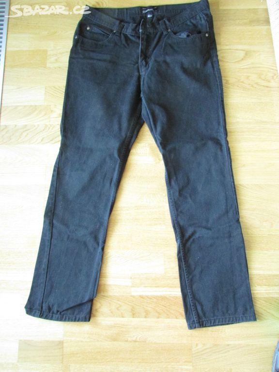 Pánské černé kalhoty 0db5e558eb