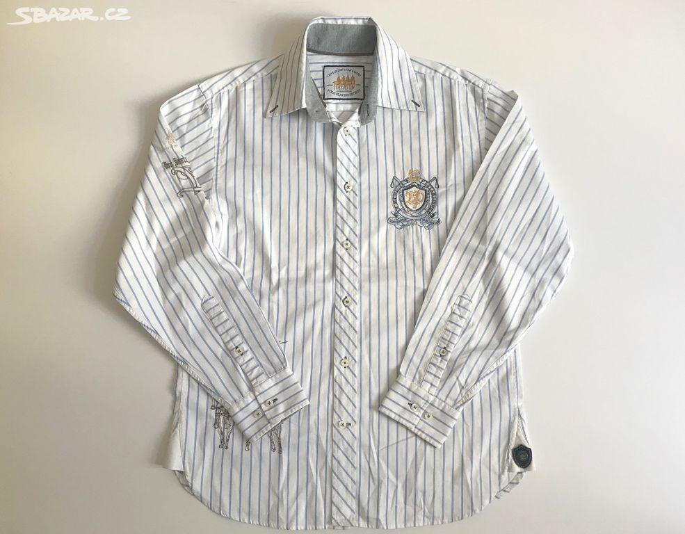 Pánská bílá košile originál Van Santen Polo vel. M - Praha - Sbazar.cz f174eede1b