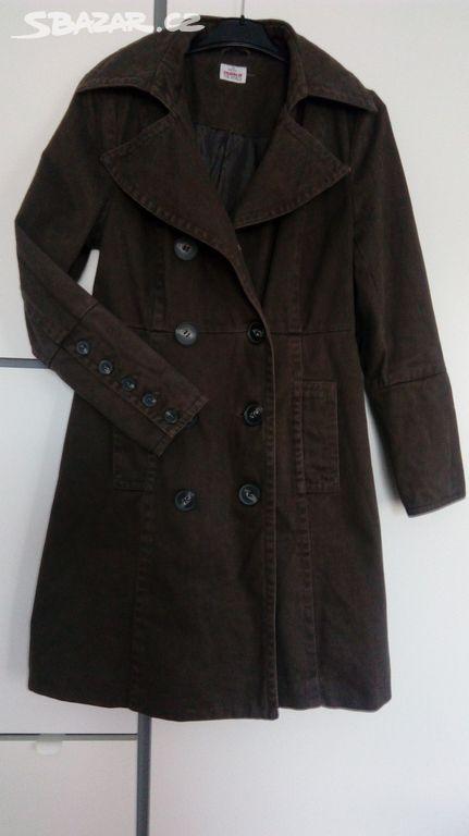 dámský šedý kabát 02257898b8