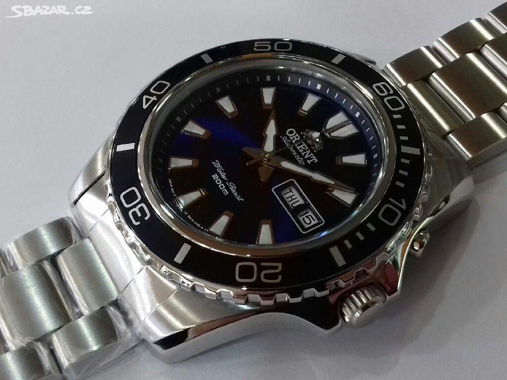 100% nové hodinky zn. Orient e7894e92e5