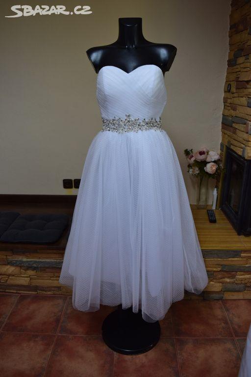krátké svatební šaty - Opava - Sbazar.cz 266b543105