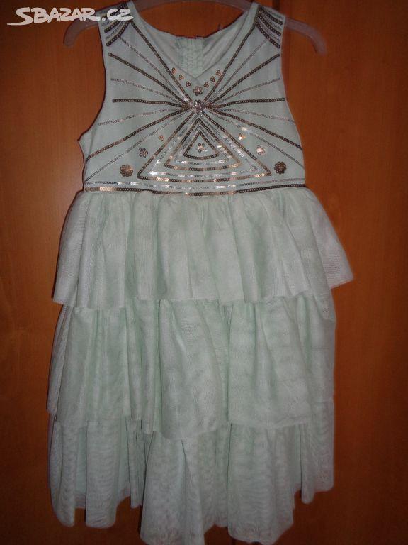 Společenské šaty vel. 128 024b09f178
