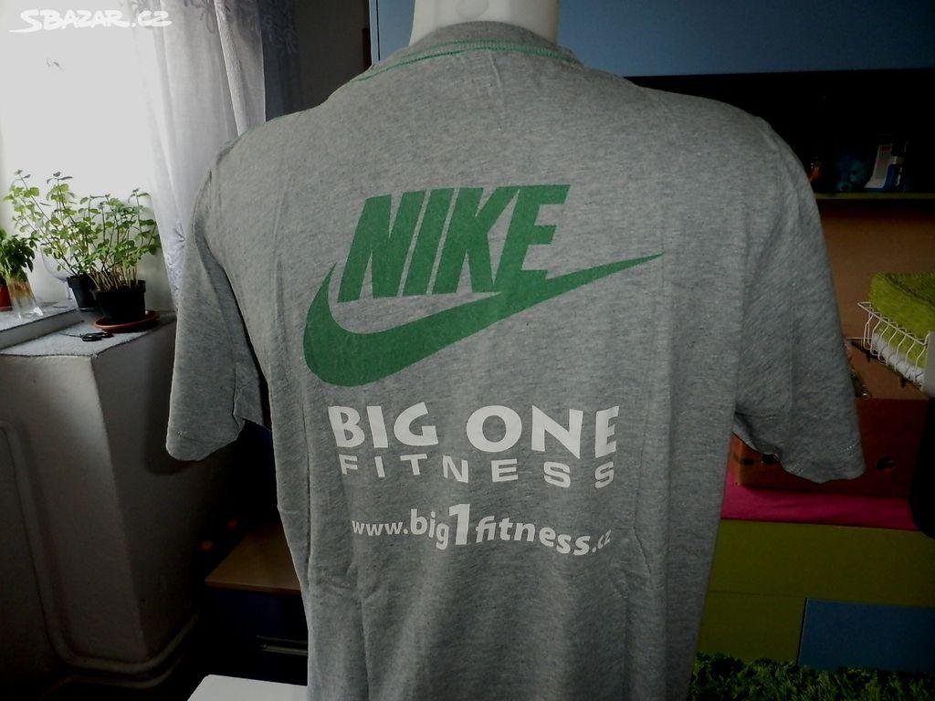 32f2057fbda Triko pánské šedé zn.Nike-Can´t stop-L - Brno - Sbazar.cz