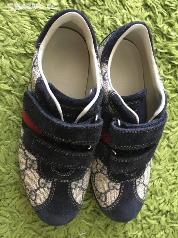 ccbca3c51dc Dětské boty Gucci