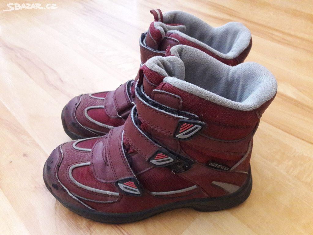 Divci boty zima vel. 30 - Chrudim - Sbazar.cz 487b28abcfa