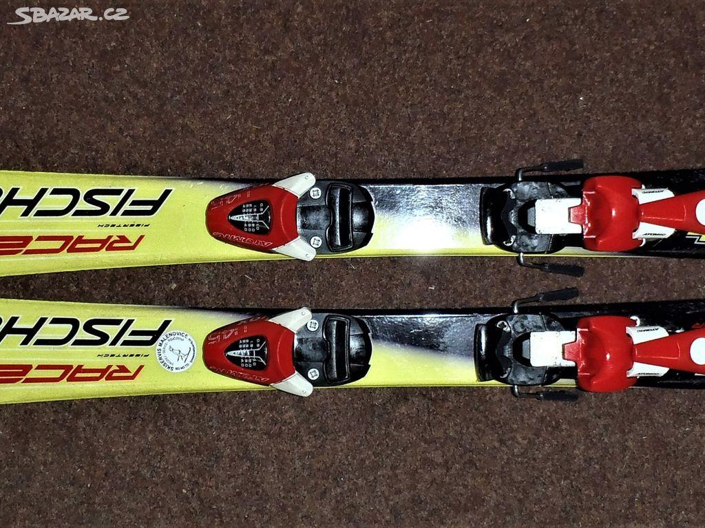 Dětské carvingové lyže Fischer RC4 vel 90cm - Zlín - Sbazar.cz e9151db32b2
