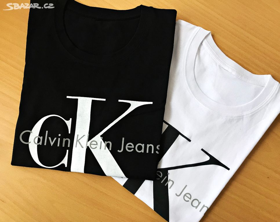 3c352c373cf2 dámské tričko calvin klein v bílé černé růžové - Broumov