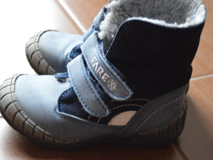 Prodám modré zimní boty zn.FARE vel. 25 jako nové - Nepomuk c353c2ca7e