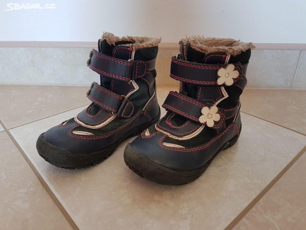 138f36aba2b Dětské zimní boty Protetika