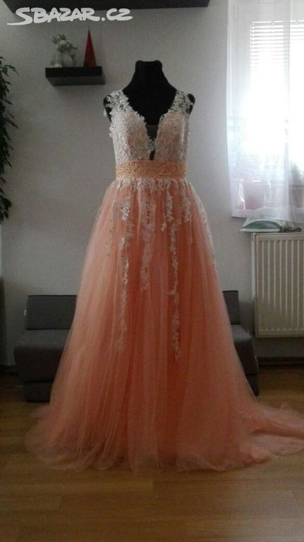 1c7f52b9266 Nové svatební šaty velikost 34