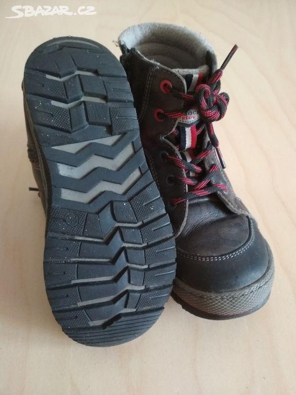 Kožené zimní boty Lasocki 23a7a2f106