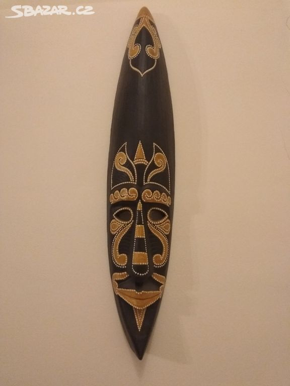 856249c3307 Dřevěná maska - Starý Plzenec