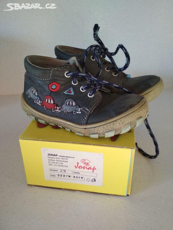 Chlapecké celoroční kožené boty Jonap 9e767a5ceb