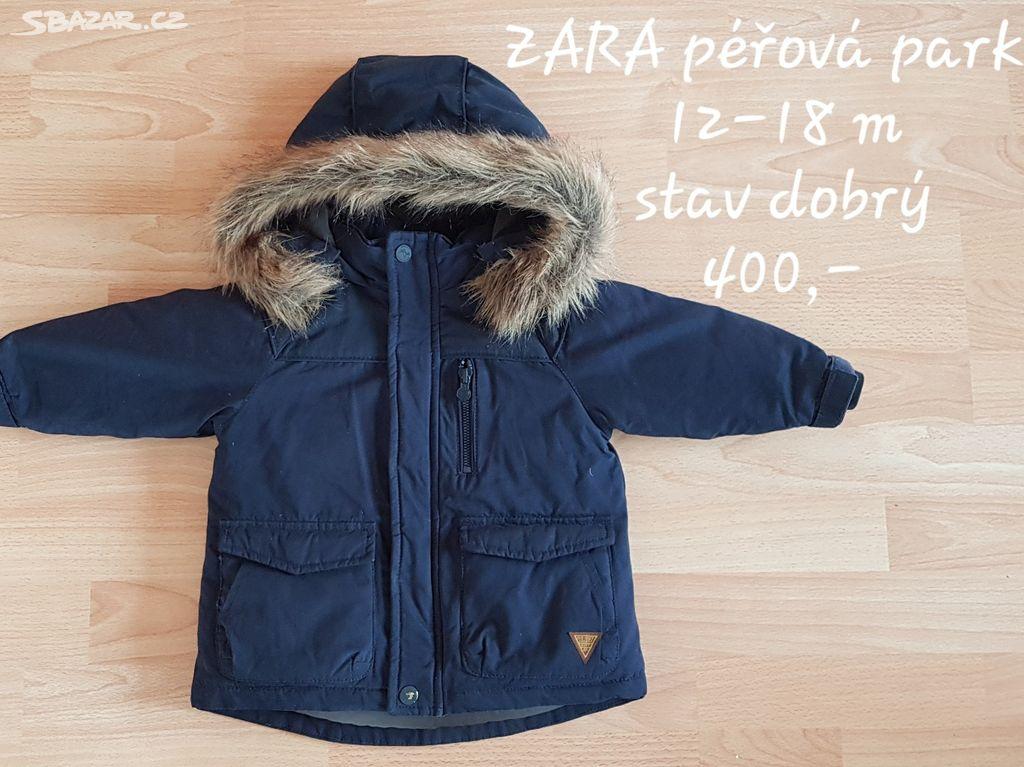 c44c992f19 Dětská zimní péřová bunda parka ZARA - Praha - Sbazar.cz