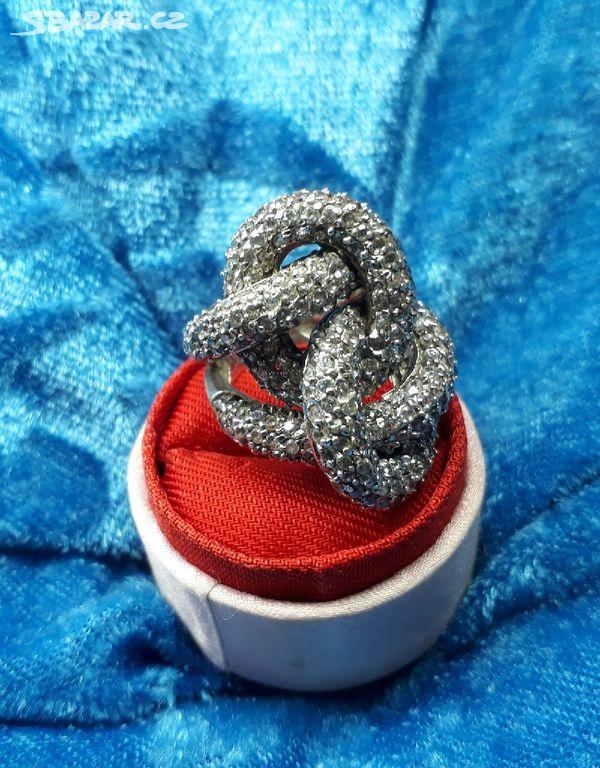 70267ee37 Masivní stříbrný prsten had - Milovice, Nymburk - Sbazar.cz