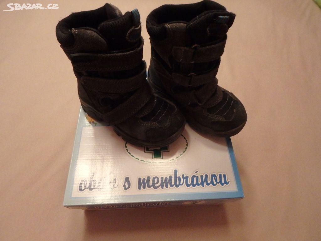 43b2c55338ee Zimní boty Santé s membránou