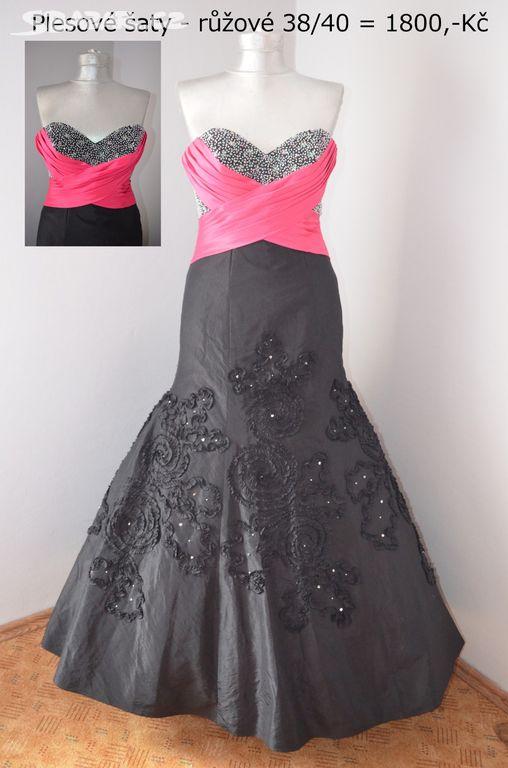 Značkové plesové šaty 38 40+ SLEVA - Turnov 16803a2ff3
