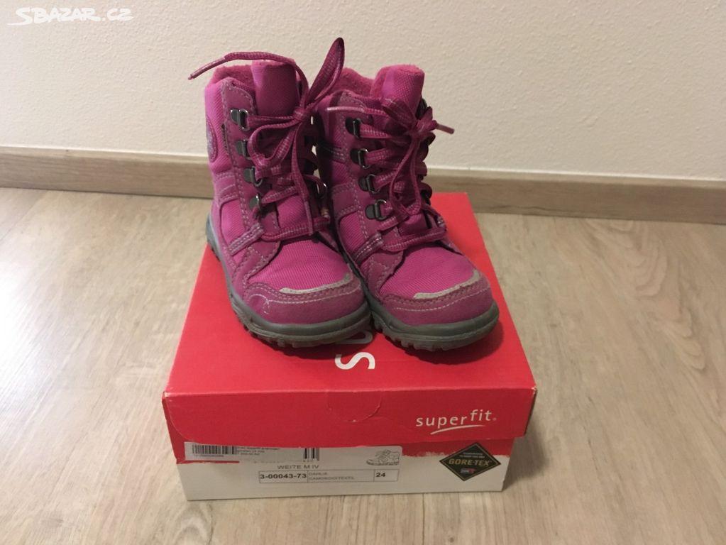 Superfit - zimní holčičí boty vel. 24 - Nepomuk cb5e81901b