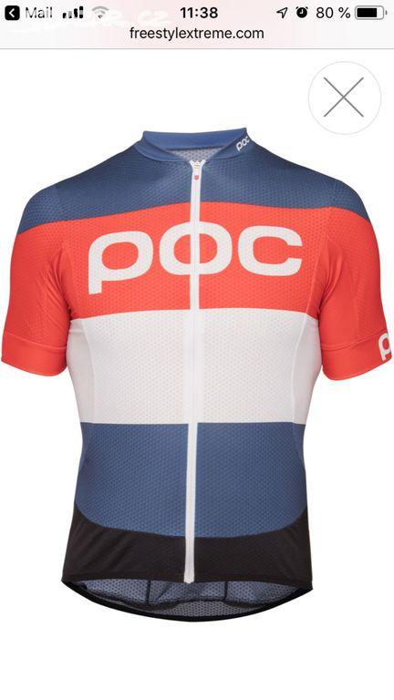 1cc9bdae7ee50 POC panský cyklo dres, Vel. L - Zlín - Sbazar.cz