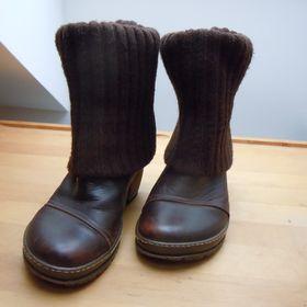 Nejlevnější inzeráty Dámské hnědé - Kozačky a zimní boty bazar ... 76b9e00adc