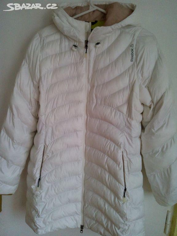 Péřová bílá bunda L REEBOK - Cheb - Sbazar.cz c9b9784581