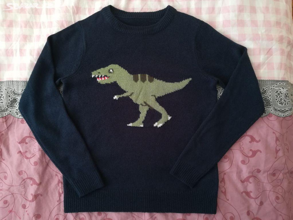 Nový dámský svetr s dinosaurem zn. Cropp 16990d536b