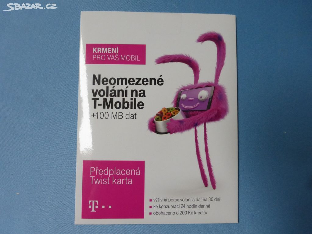 Sim Karta T Mobile Nova Jihlava Sbazar Cz