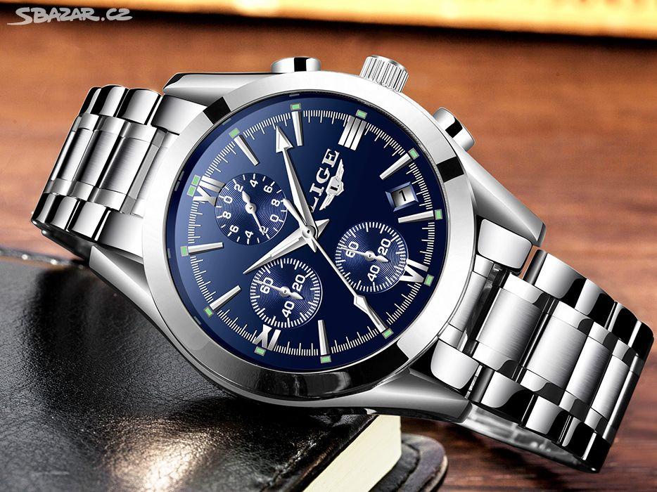 hodinky pánské LIGE nové - Hranice 110ee2540d