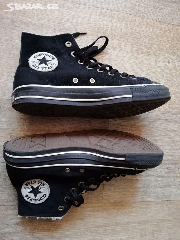 Converse pánské kožené boty s kožíškem 39 364f9b8b4cb