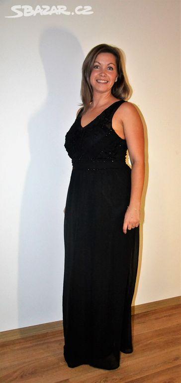 černé plesové šaty - Šluknov d055139a8c