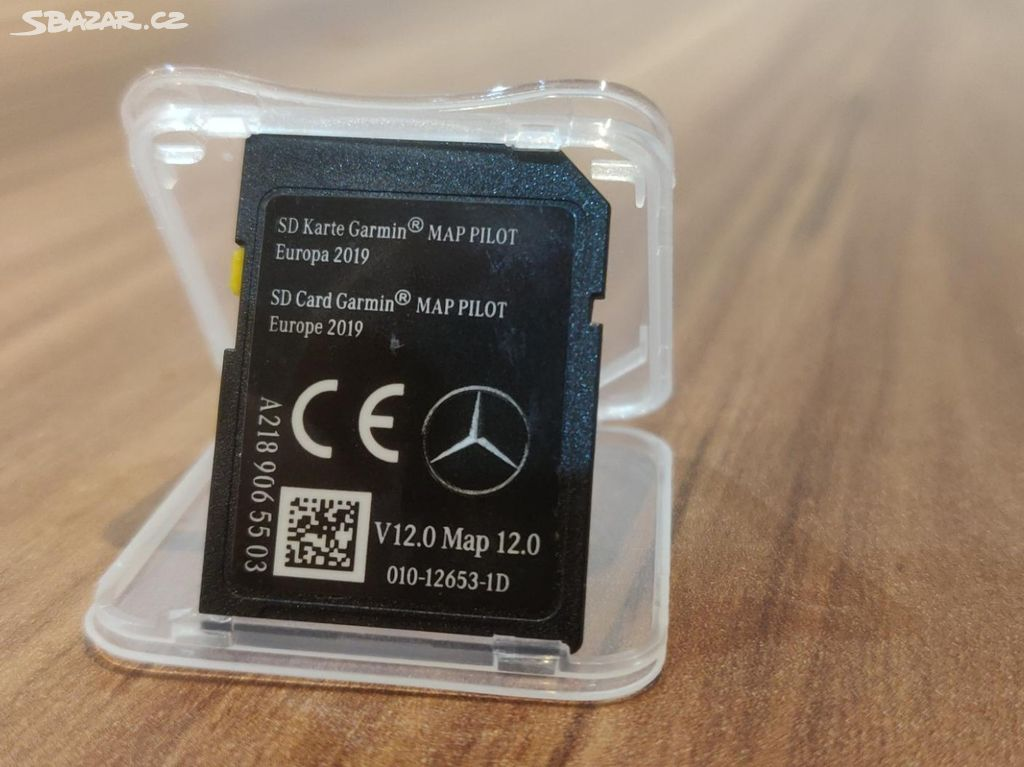 GPS SD Mercedes-Benz V12 2019/20 Garmin Star 1