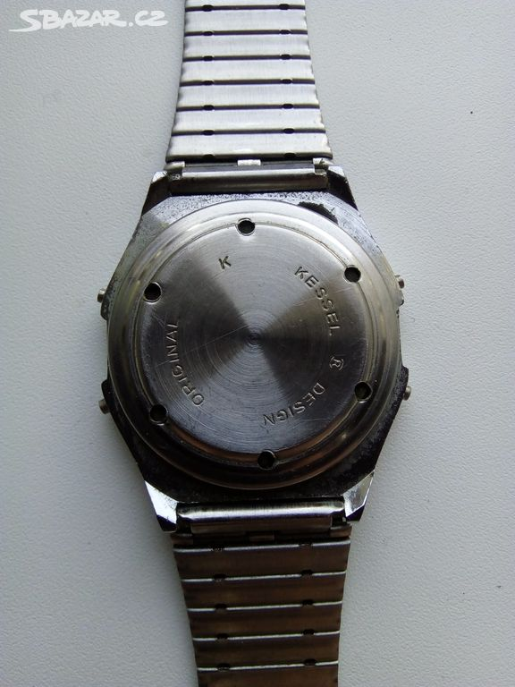 Krásné retro digitální hodinky Kessel - Opava - Sbazar.cz 0d461458f14