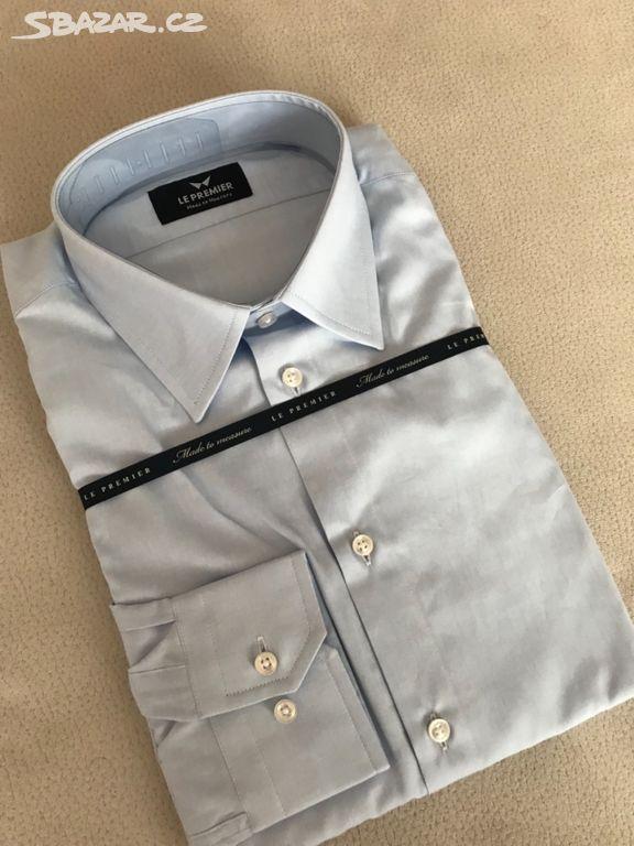 1f584a41cb0 Le Premier- luxusní pánská košile na míru-PC 3.090 - Mariánské Lázně ...