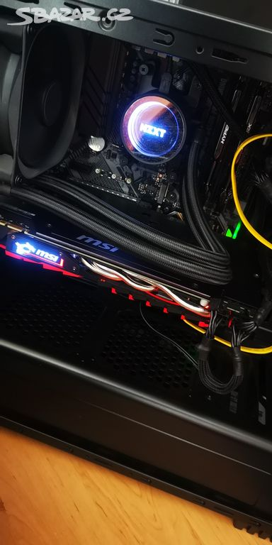 Herní PC RYZEN 5 2600X GTX 1080 SSD+3TB, LCD 144hz - Tábor